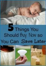 things you should buy now so you can save money later