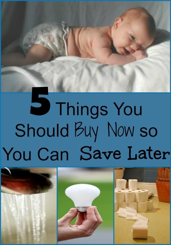 Are you looking for what to invest in now so you save money later? With a small investment these items will save you hundreds every year!