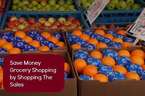 Save Money Grocery Shopping by Shopping The Sales