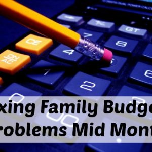 fixing family budget problems
