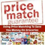 price matching to save you money on Groceries