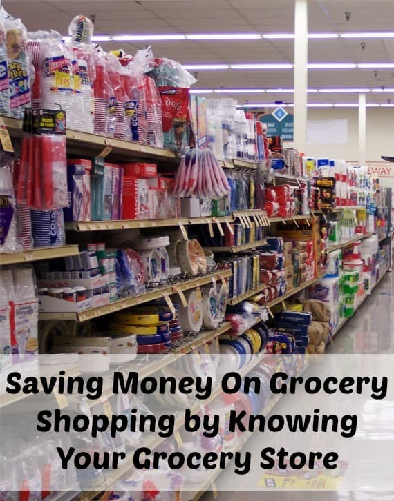 saving money in grocery shopping by knowing your grocery store