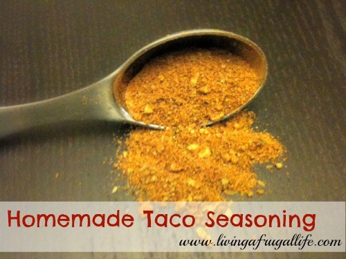 Homemade Taco Seasoning Recipe on a Budget