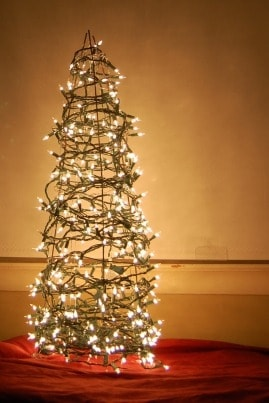 Frugal Christmas Tree Decoration