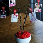 Valentines Card Tree decoration