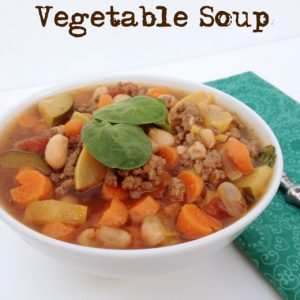 Italian Beef and Vegetable Soup