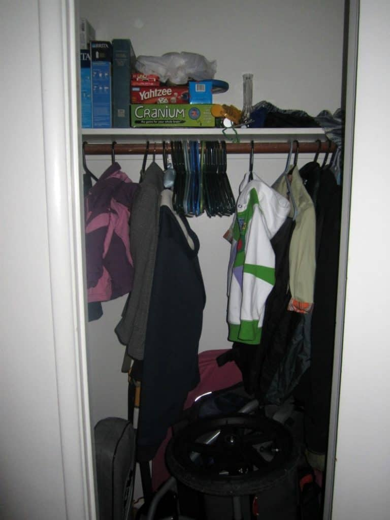 Simple Living Challenge Day 5: Simple Closet