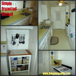 Simple Living Challenge Day 9: Simple Organized Kitchen