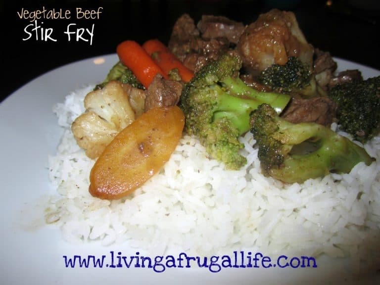 Healthy Vegetable Beef Stir Fry