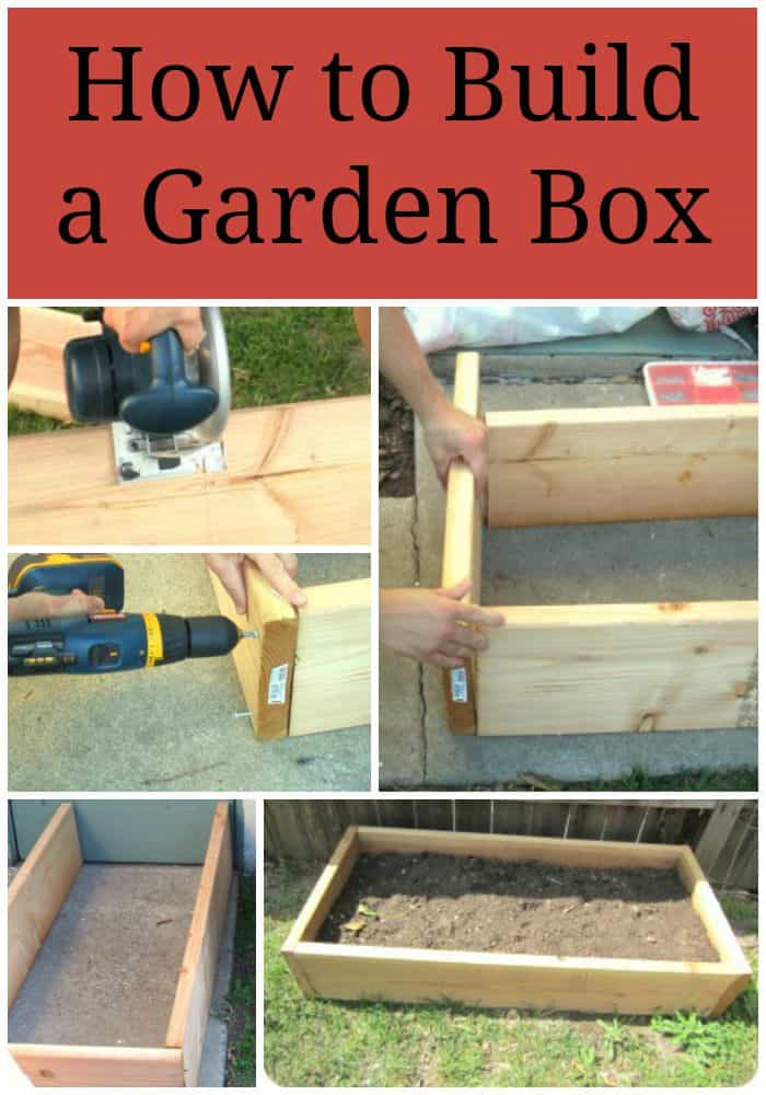 How to build a garden box for Best ways to save money when building a house