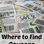 Where to Find Coupons for Groceries