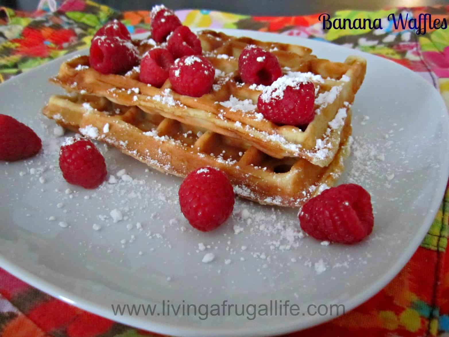Banana Waffles Recipe