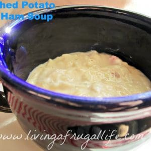 Mashed Potato and Ham Soup Recipe