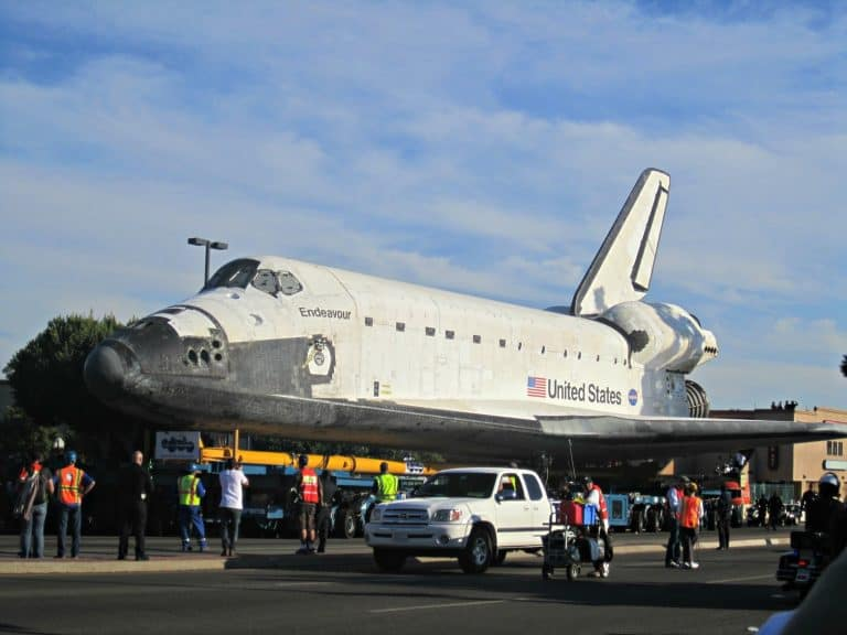 The Endeavour Space Shuttle Experience