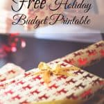 Free holiday savings printable to help you make a holiday budget. Learn to save money for the holiday's and get some holiday gift ideas for your kids!