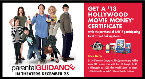 Free Parental Guidance Movie Tickets