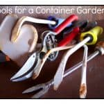 Tools Needed for a Container Garden