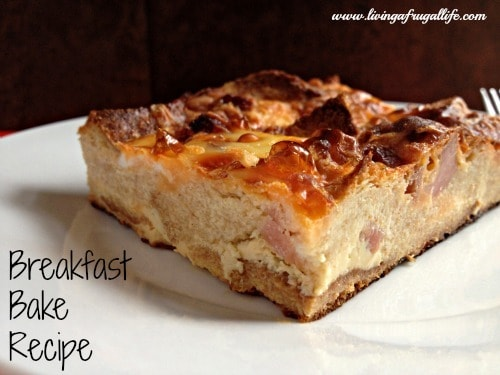 Budget Breakfast Bake Recipe