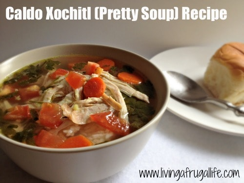 Healthy Caldo Xochitl Soup (Pretty Soup) Recipe