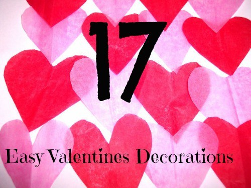 Easy Valentines Decorations