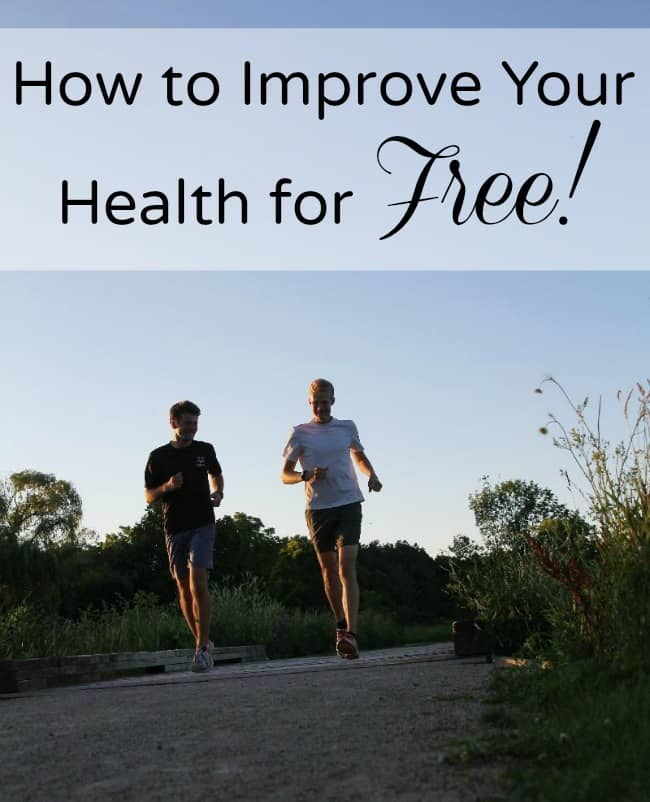 How to improve your health with these 22 ideas for free exercise. Includes indoor and outdoor activities for all ages!