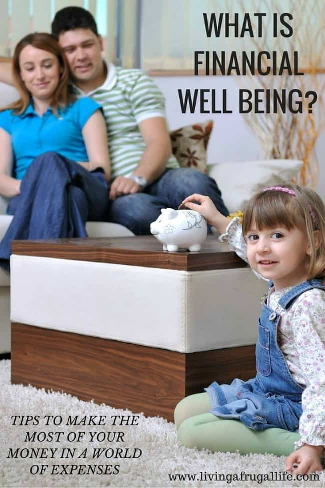What is Financial Well Being?