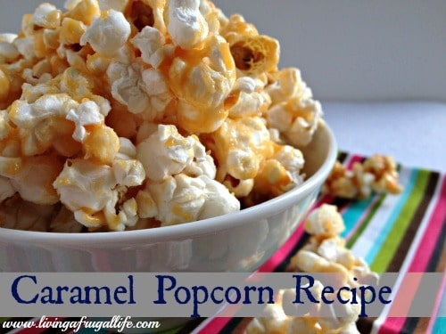 Healthy Carmel Popcorn Recipe