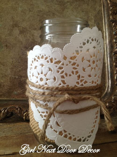 valentine jar Decoration