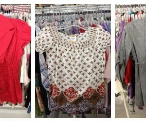 Shopping at Thrift Stores For Spring Fashion