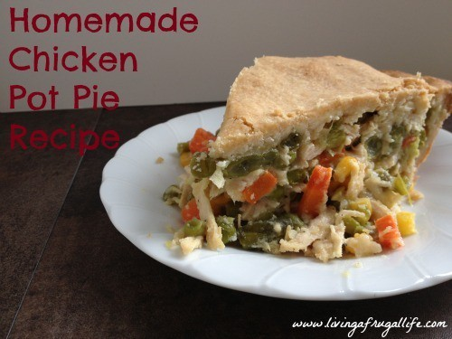 Frugal Chicken Pot Pie Family Recipe