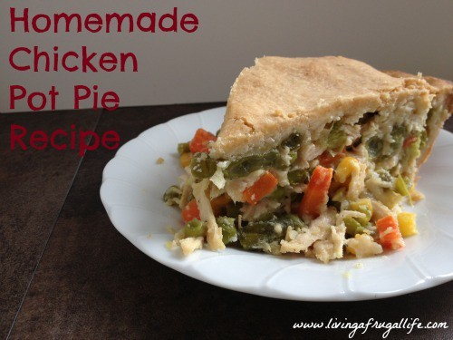 Fugal chicken pot pie family recipe