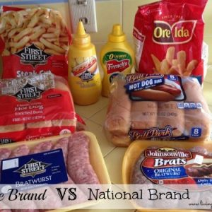 Which is better store brand or National brand