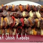 Beef Shish Kabob Quick Dinner For Two