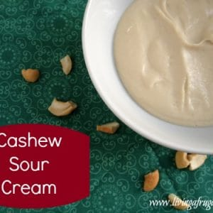 Cashew Sour Cream Substitute