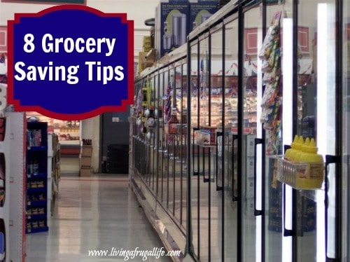 8 Grocery Saving Tips