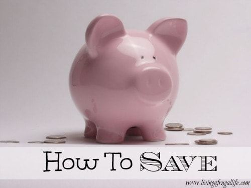 How To Save