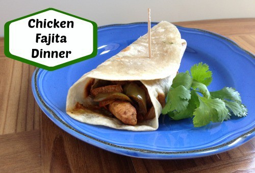 Chicken Fajita Dinner Recipe