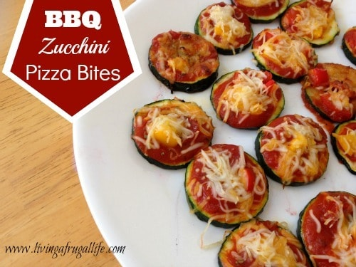 Zucchini Pizza Bites: Save Mart 350 Tailgate Recipe • Living A ...