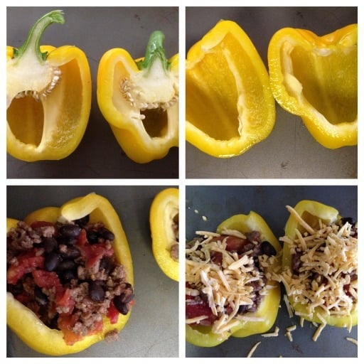 mexican stuffed peppers how to