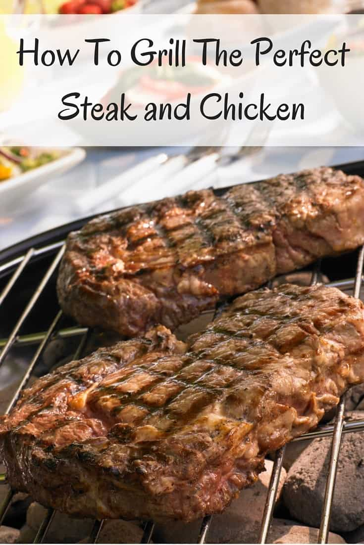 Use these tips to learn how to grill the perfect steak and how to barbeque chicken. Includes tips, helps, tools and recipes for your best grilling ever!