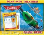 Disney Planes Activity Sheets