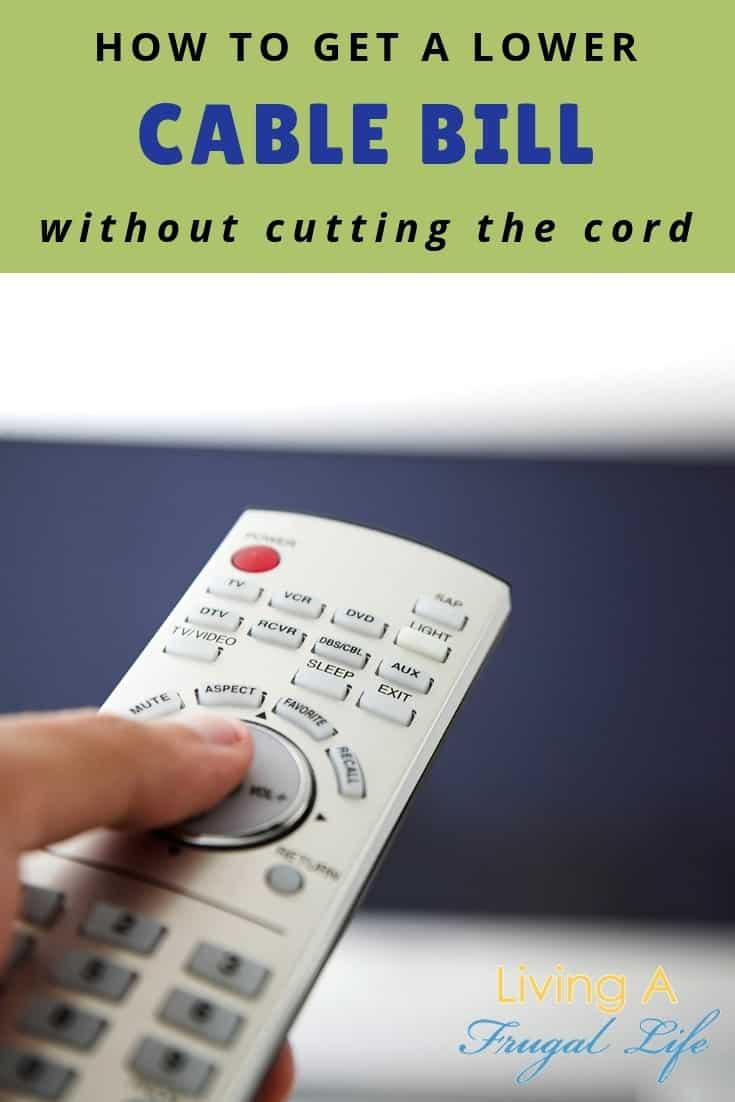 How to Lower Your Cable TV Bill Without Cutting the Cord