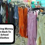 4 Ways To Save Money on Back To School Clothes