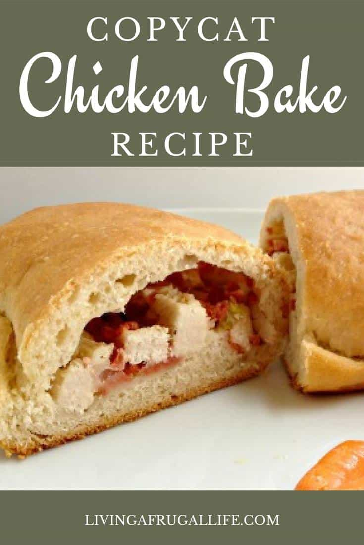 Are you looking for a copycat chicken bake recipe that makes chicken bakes that tastes like Costco's? This recipe for chicken bakes is a simple meal for two or more. They are super quick to make and really yummy! you can make the bakes as big or small as you would like and the make great freezer meals!