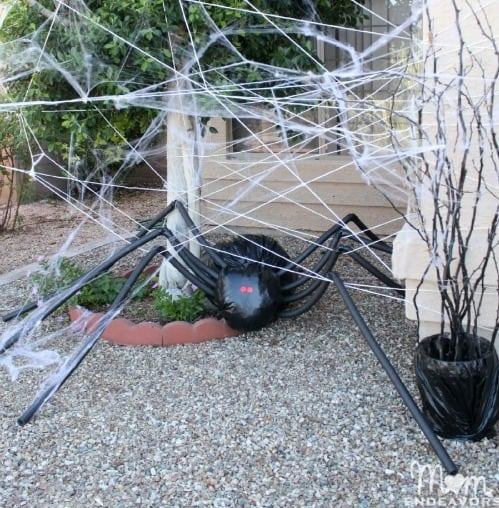 DIY halloween giant spider