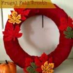 Easy DIY Home Decor Wreath For Fall for Under $10