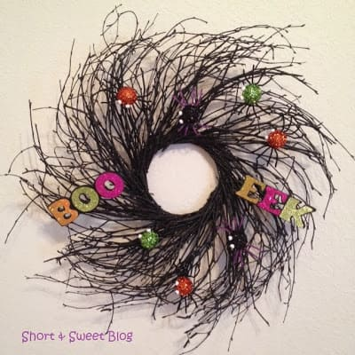 Halloween DIY Wreath