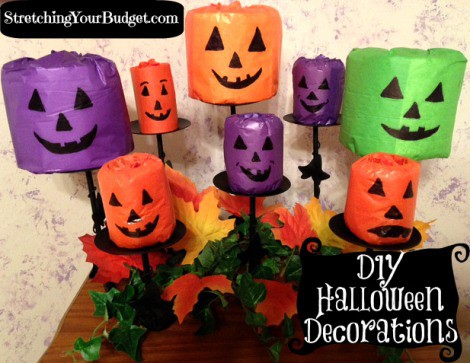 Halloween Toilet Paper craft