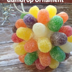 Dollar Store Gumdrop Ornament