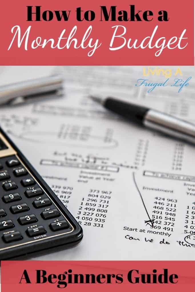 how to make a monthly budget  a beginners guide   budget plan sample